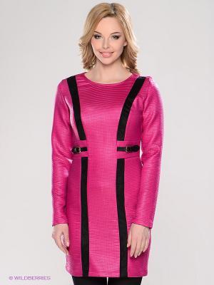 Платье TOPSANDTOPS. Цвет: фуксия