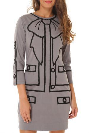 Платье Almatrichi. Цвет: бежевый