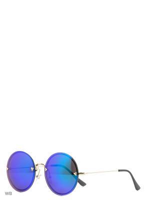 Солнцезащитные очки To be Queen. Цвет: синий, зеленый