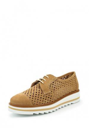 Ботинки La Coleccion. Цвет: коричневый