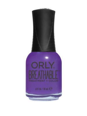 Профессиональный дышащий уход(цвет) за ногтями 912 PICK-ME-UP ORLY. Цвет: темно-фиолетовый