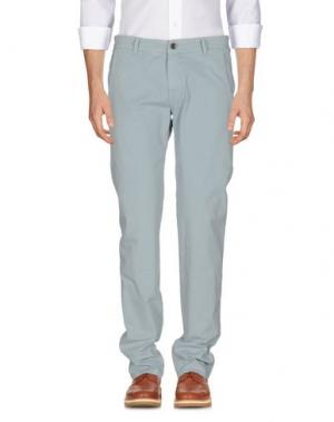 Повседневные брюки 9.2 BY CARLO CHIONNA. Цвет: небесно-голубой