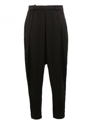 Tapered trousers Masnada. Цвет: чёрный