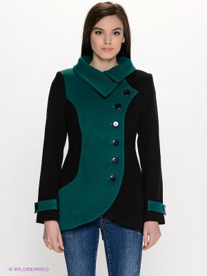 Пальто DOCTOR E. Цвет: черный, зеленый