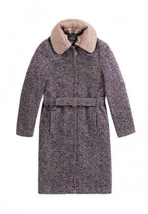 Пальто Artwizard. Цвет: фиолетовый