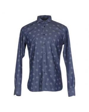 Pубашка JEY COLE MAN. Цвет: грифельно-синий
