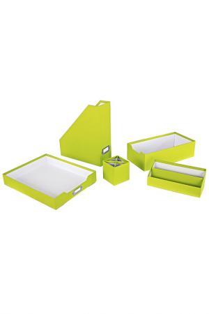 Набор для письменного стола Bizzotto. Цвет: зеленый