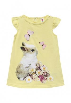 Платье Maloo. Цвет: желтый