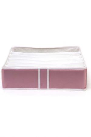 Органайзер 6 ячеек HOMSU. Цвет: розовый