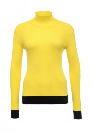 Водолазка Sportmax Code. Цвет: желтый
