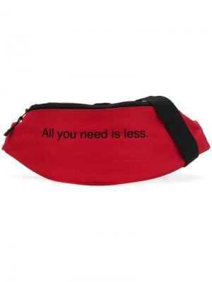 Поясная сумка All You Need Is Less F.A.M.T.. Цвет: красный