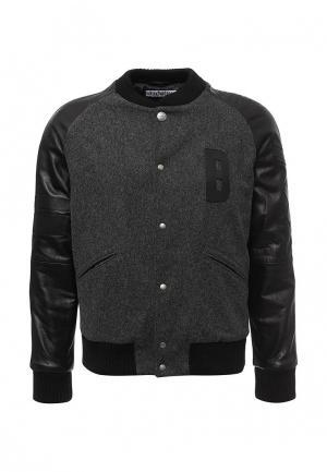 Куртка утепленная Bikkembergs. Цвет: серый