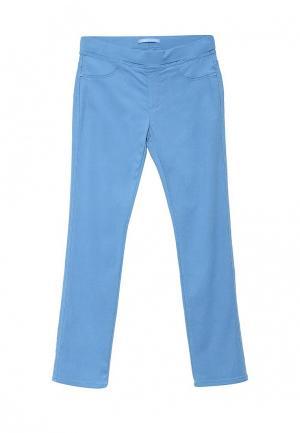 Брюки G&G. Цвет: голубой