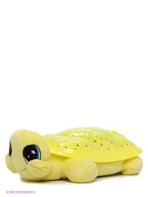 Проектор-ночник Черепаха Мульти-пульти. Цвет: желтый