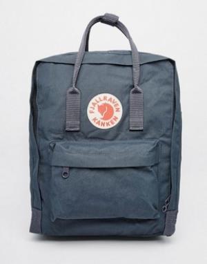 Fjallraven Темно-синий рюкзак Kanken. Цвет: темно-синий