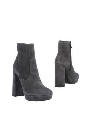 Полусапоги и высокие ботинки G.P. PER NOY BOLOGNA. Цвет: свинцово-серый