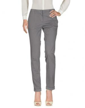 Повседневные брюки MANUEL RITZ. Цвет: серый