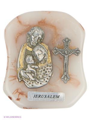 Икона Святое Семейство Bethlehem Star. Цвет: серебристый