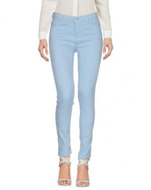 Повседневные брюки CARHARTT. Цвет: небесно-голубой