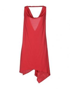 Короткое платье CLIÓ. Цвет: красный