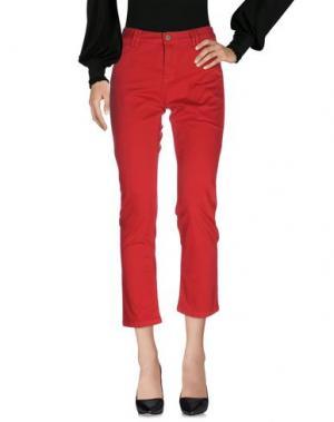 Повседневные брюки GERARD DAREL. Цвет: красный