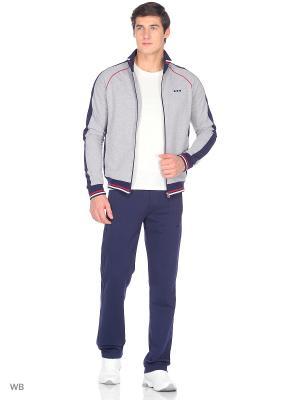 Спортивный костюм ADDIC. Цвет: светло-серый, серый меланж