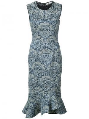 Louisa dress Erdem. Цвет: синий