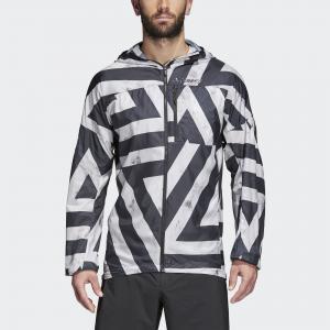 Ветровка Agravic  TERREX adidas. Цвет: белый