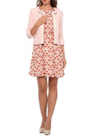 Пиджак Blugirl. Цвет: розовый