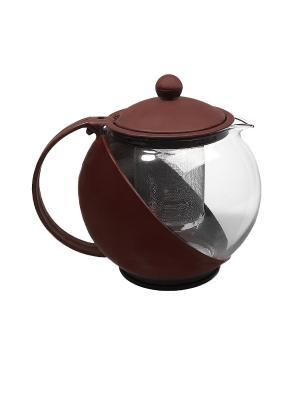 Чайник заварочный Migura. Цвет: коричневый