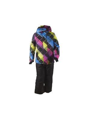 Комплект одежды Phibee. Цвет: темно-синий