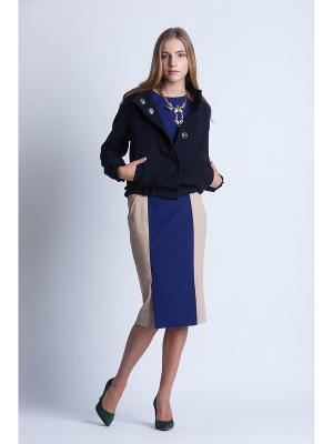 Куртка-Бомбер NAVY BLUE Stimage. Цвет: синий