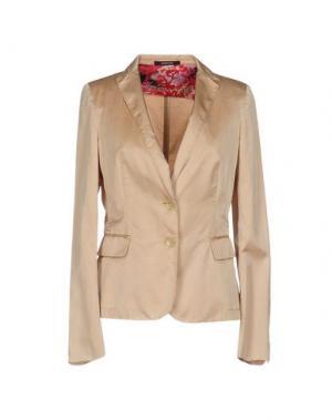 Пиджак CALVARESI. Цвет: пастельно-розовый