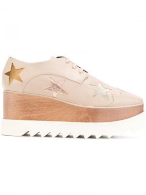 Ботинки на платформе Star Elyse Stella McCartney. Цвет: телесный