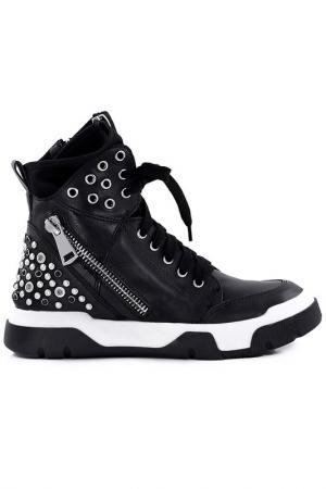 Ботинки Studio Italia. Цвет: черный