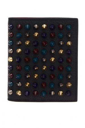 Кожаный кошелек M Paros Christian Louboutin. Цвет: черный, разноцветный