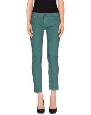 Повседневные брюки SHIELD. Цвет: зеленый