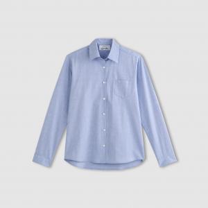 Рубашка, 100% хлопка. ENJOYPHOENIX POUR LA REDOUTE. Цвет: синий