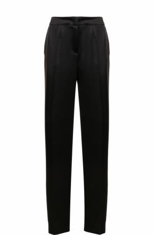 Широкие брюки прямого кроя Escada. Цвет: черный