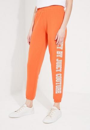 Брюки спортивные Juicy by Couture. Цвет: оранжевый