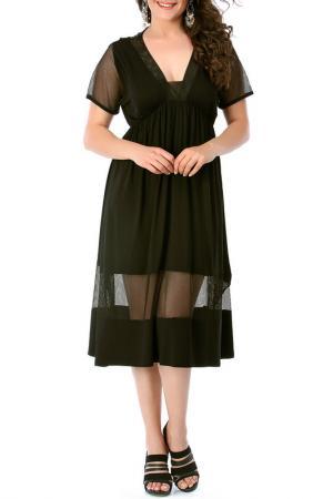 Платье VALERIA FRATTA. Цвет: black
