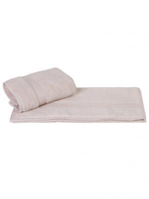 Махровое полотенце 50x90 FIRUZE кремовое,100% хлопок HOBBY HOME COLLECTION. Цвет: кремовый