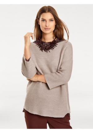 Пуловер B.C. BEST CONNECTIONS by Heine. Цвет: песочный