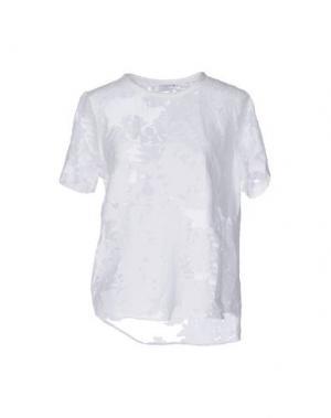 Блузка EQUIPMENT FEMME. Цвет: белый