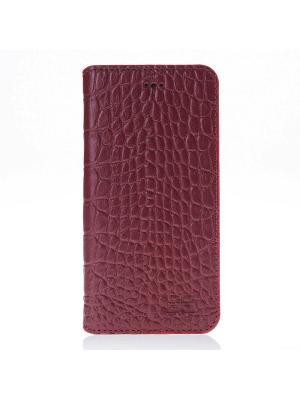Кожаный чехол книжка iPhone 7 Bouletta. Цвет: красный
