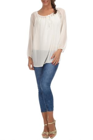 Блуза Les Chineuses. Цвет: белый