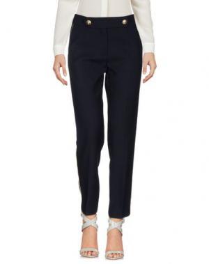 Повседневные брюки TARA JARMON. Цвет: темно-синий