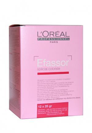 Пакетики с осветляющей пудрой LOreal Professional L'Oreal. Цвет: розовый