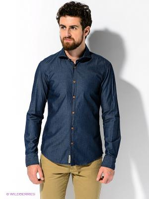 Рубашка ARROW. Цвет: темно-синий