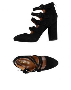 Туфли BIANCA DI. Цвет: черный